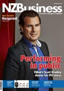 NZBusiness Cover September 2014