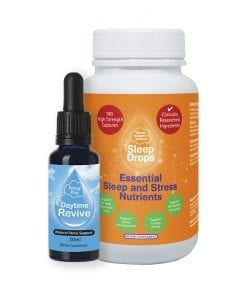 Daytime Revive and Essential Sleep and Stress Nutrients