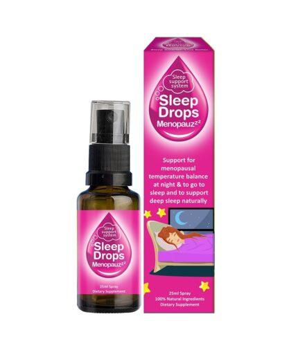 SleepDrops for Menopause and Perimenopause 25ml Sleep Remedy NZ Spray