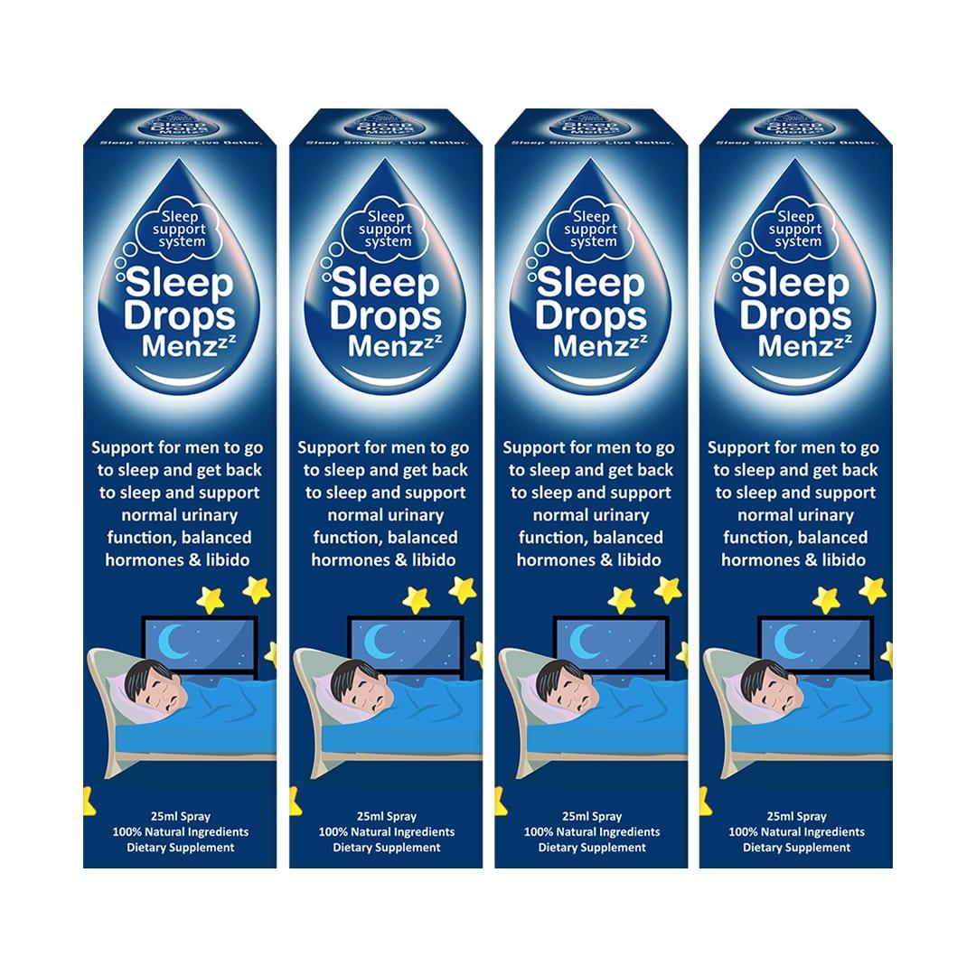 SleepDrops for Menzzz Sleep Support spray
