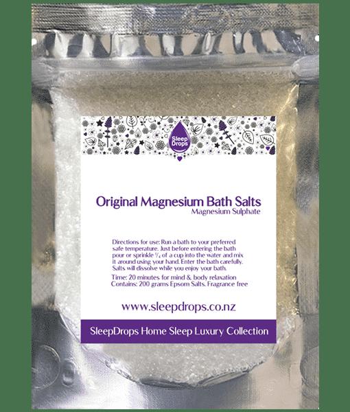 Sleep Drops Magnesium Bath Salts