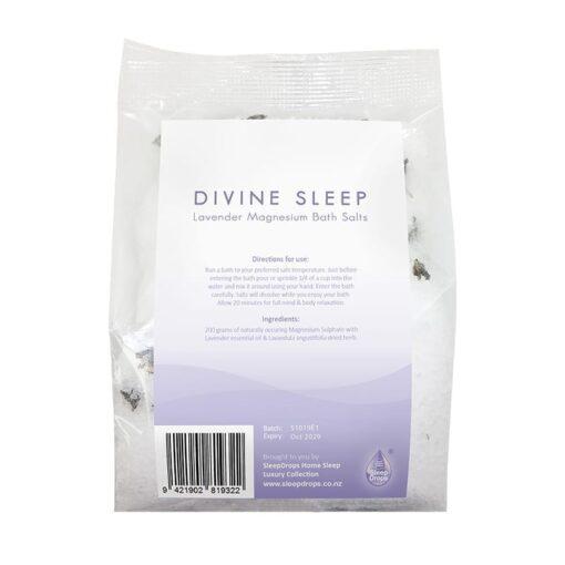 Sleep Drops Lavender Magnesium Bath Salts